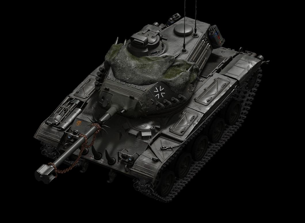 Höllenhund leKpz M 41 90 mm